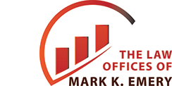 Law Office of Mark K. Emery Sticky Logo Retina